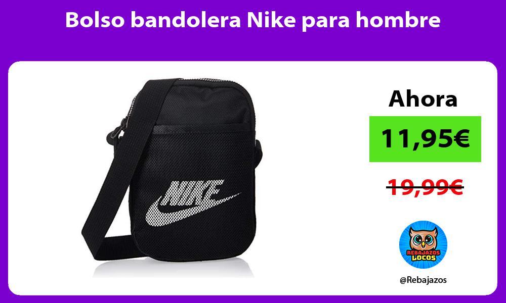 Bolso bandolera Nike para hombre