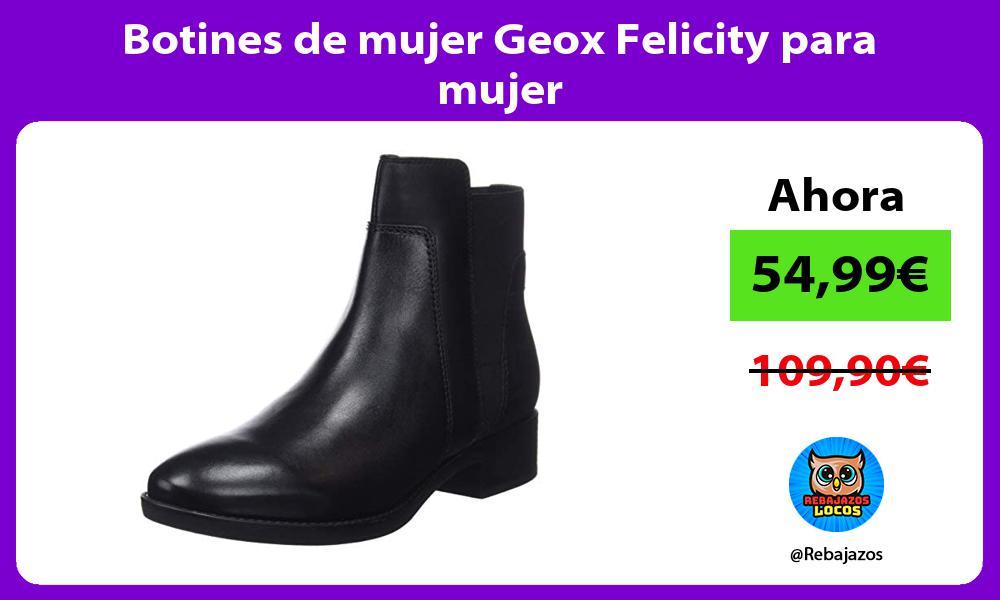 Botines de mujer Geox Felicity para mujer