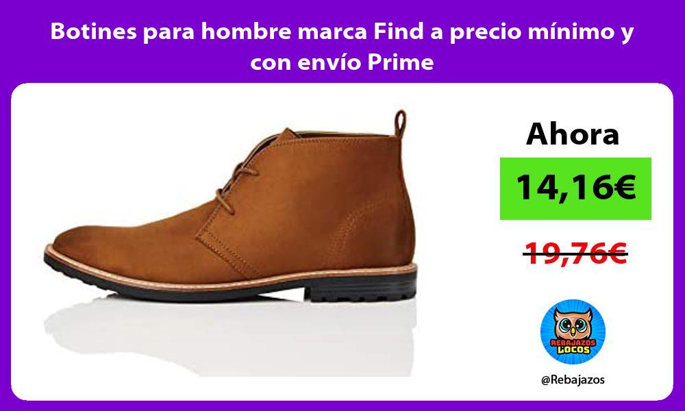 Botines para hombre marca Find a precio minimo y con envio Prime