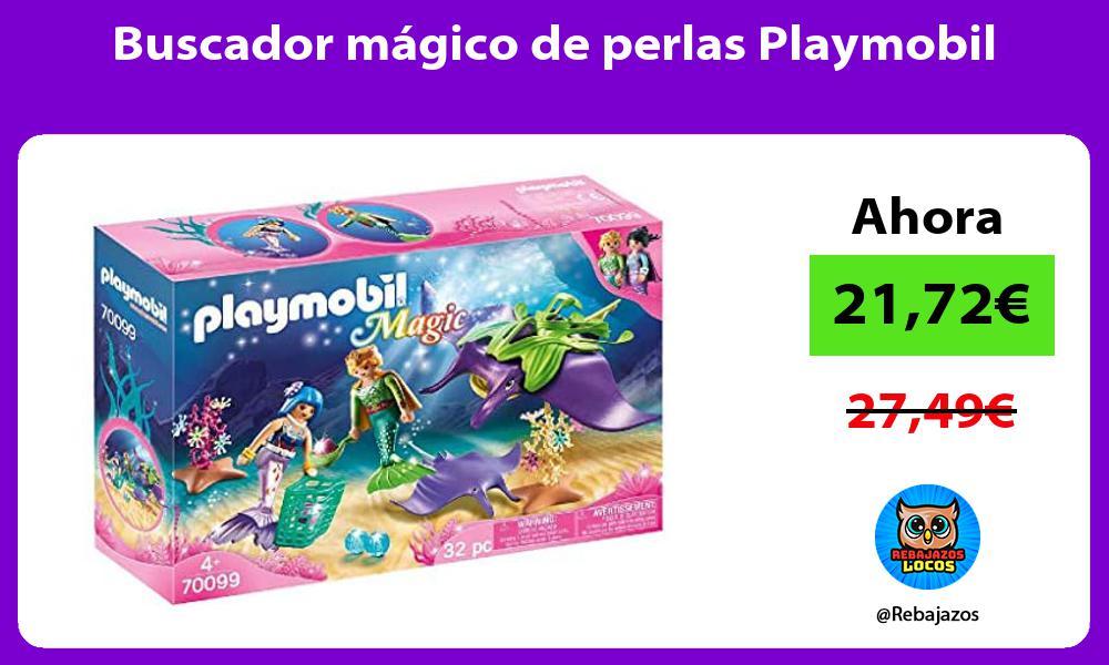 Buscador magico de perlas Playmobil