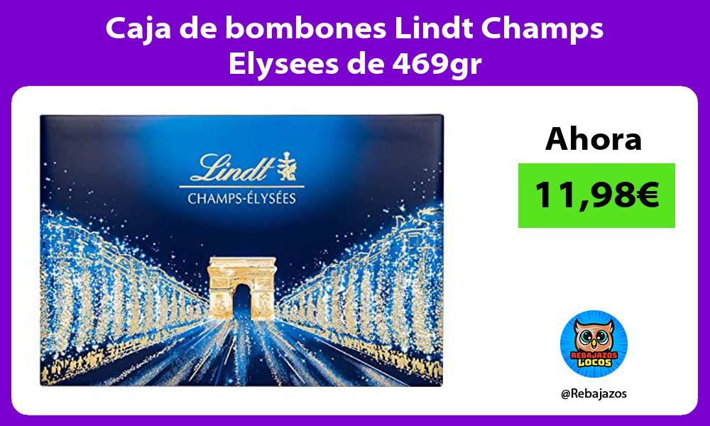 Caja de bombones Lindt Champs Elysees de 469gr