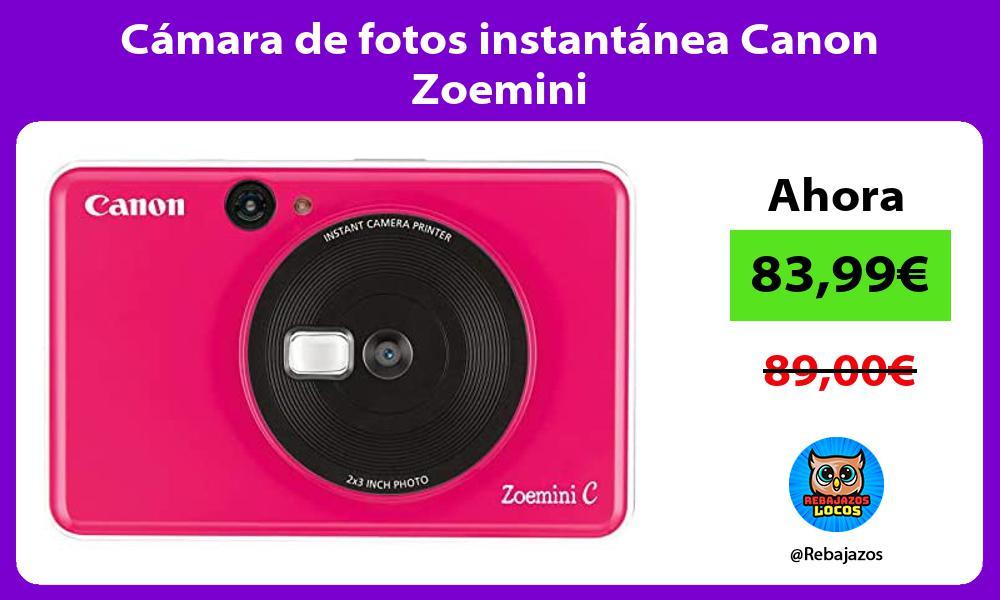 Camara de fotos instantanea Canon Zoemini