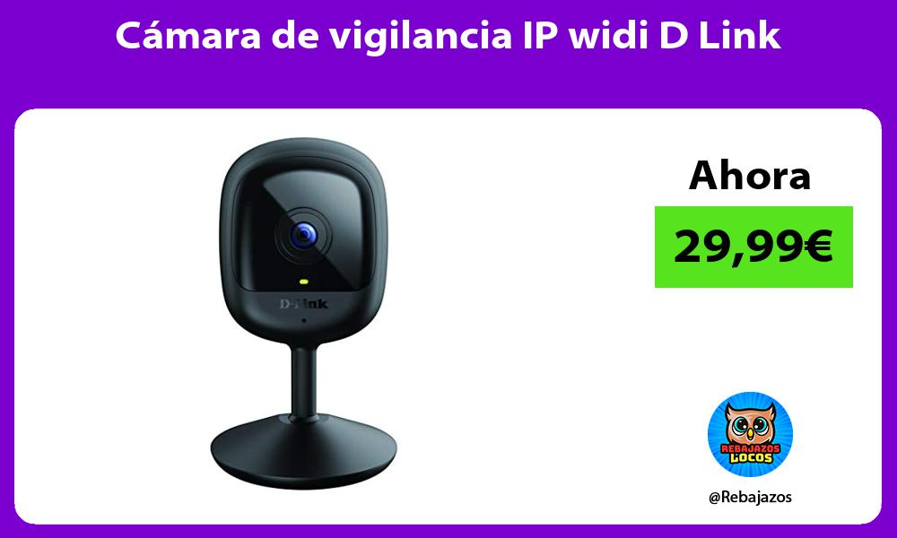 Camara de vigilancia IP widi D Link