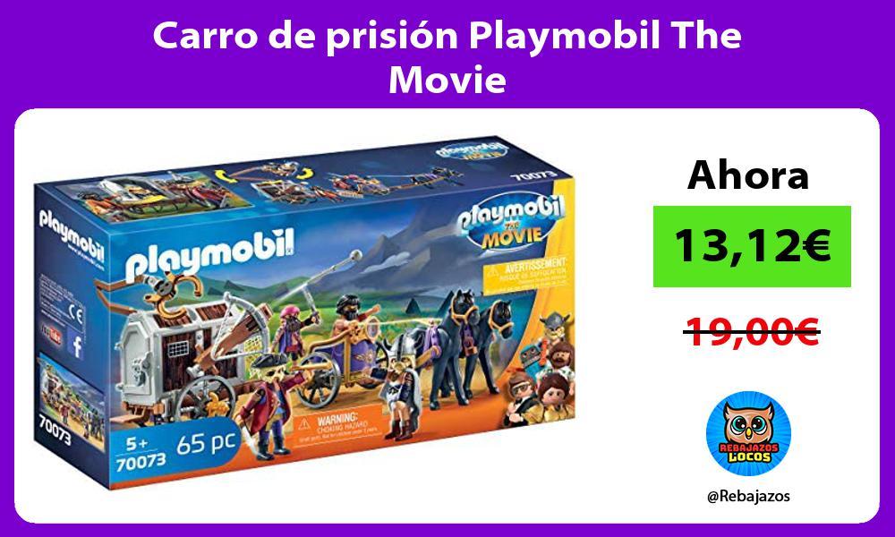 Carro de prision Playmobil The Movie