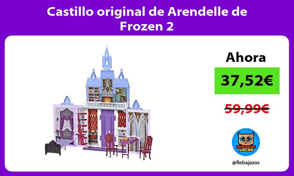 Castillo original de Arendelle de Frozen 2