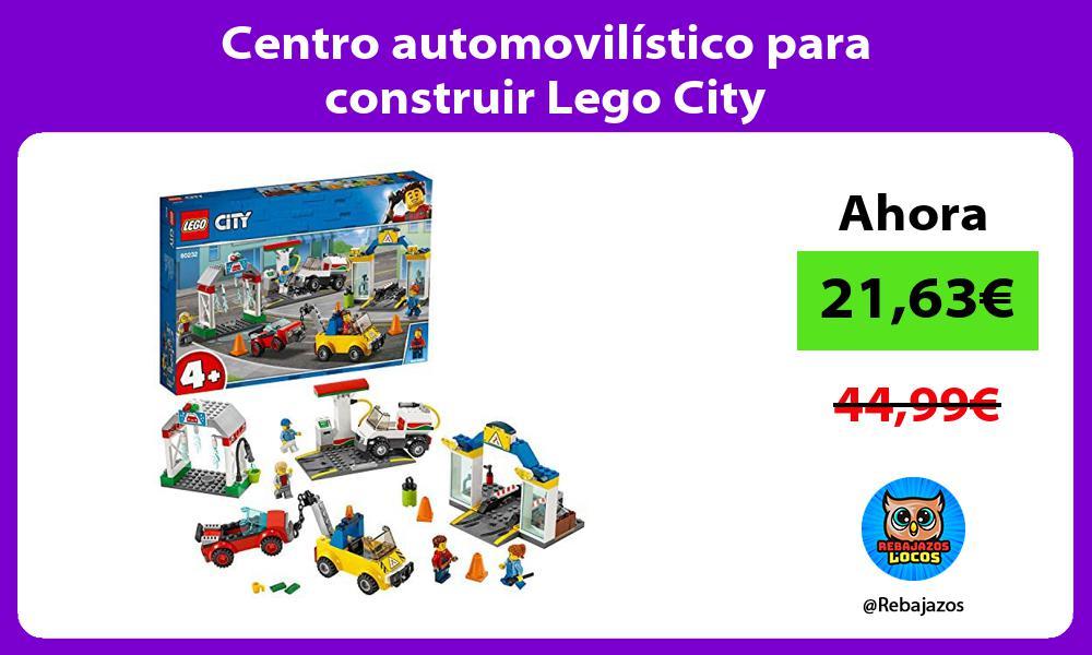 Centro automovilistico para construir Lego City