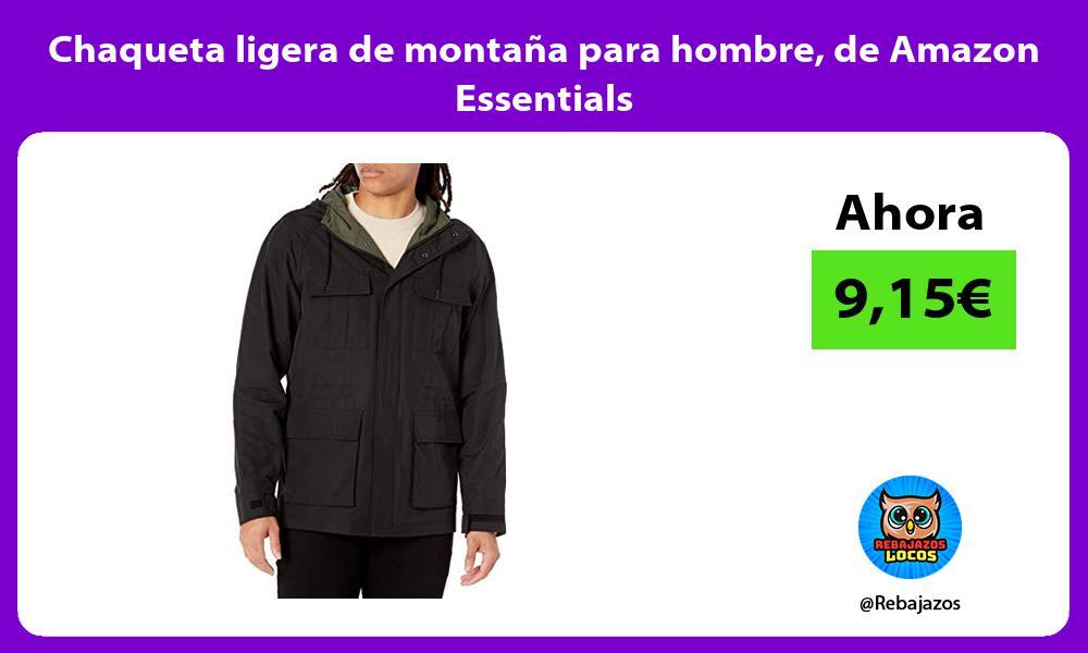 Chaqueta ligera de montana para hombre de Amazon Essentials