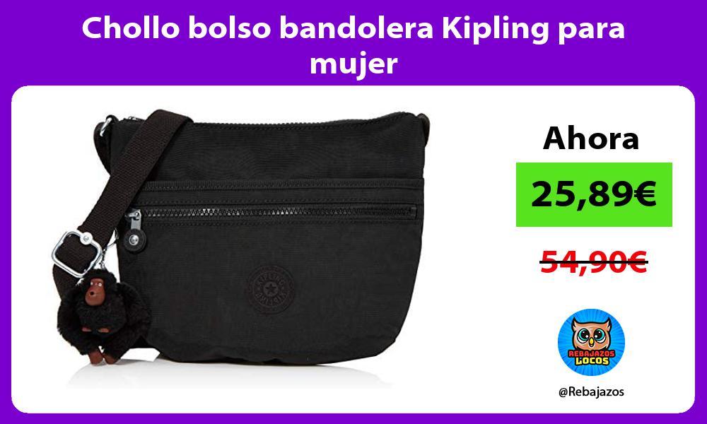 Chollo bolso bandolera Kipling para mujer