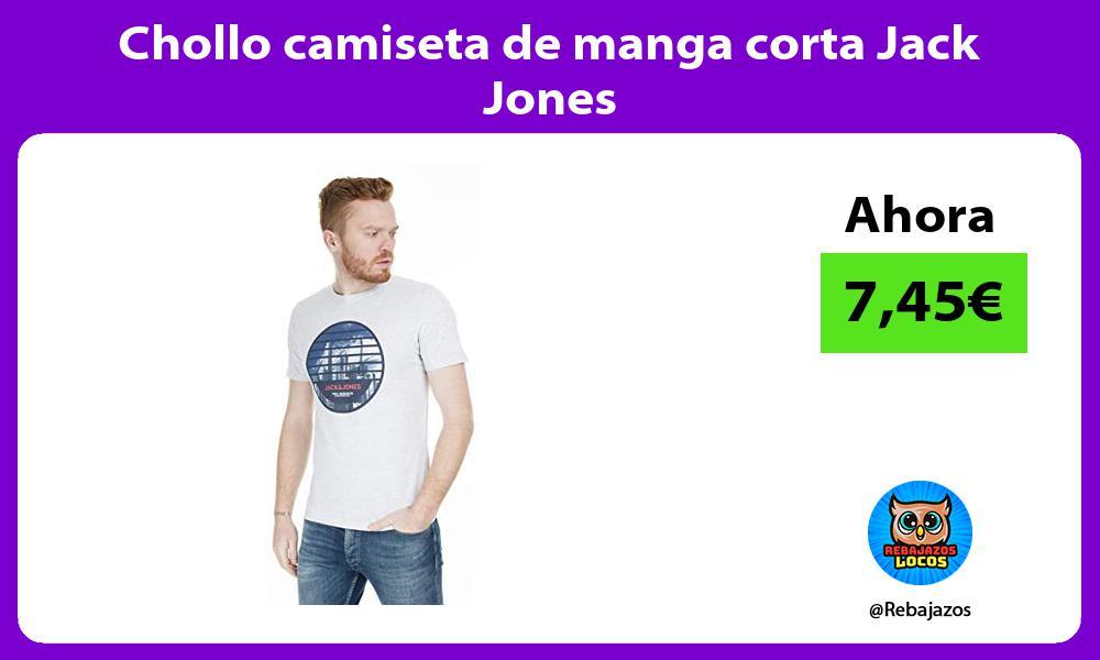 Chollo camiseta de manga corta Jack Jones