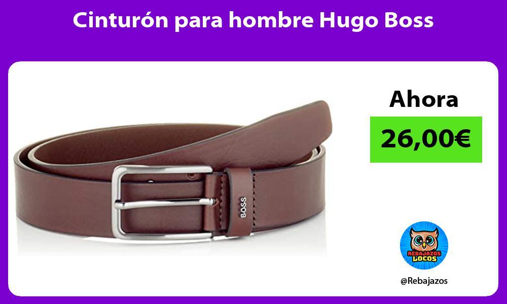 Cinturon para hombre Hugo Boss