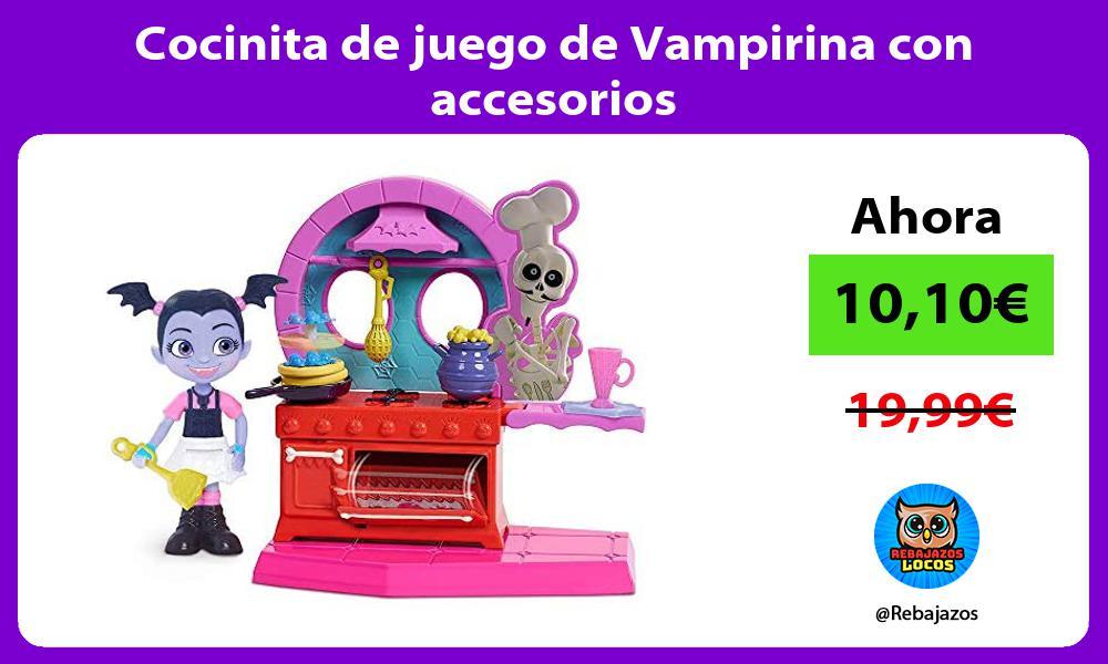 Cocinita de juego de Vampirina con accesorios