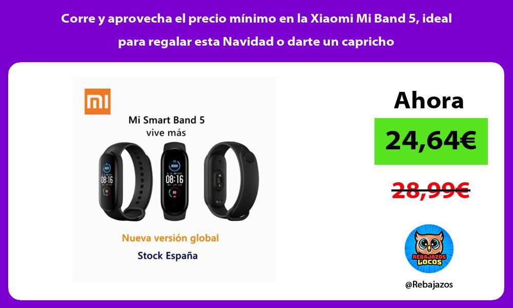 Corre y aprovecha el precio minimo en la Xiaomi Mi Band 5 ideal para regalar esta Navidad o darte un capricho