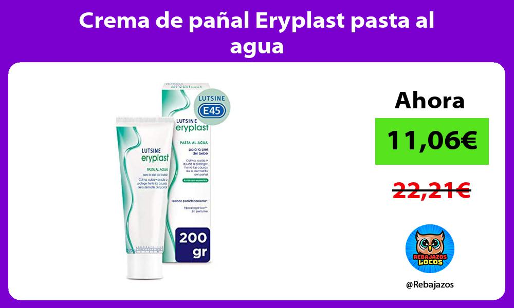 Crema de panal Eryplast pasta al agua