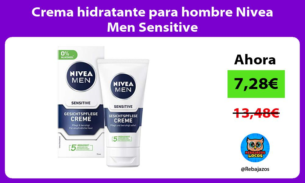 Crema hidratante para hombre Nivea Men Sensitive