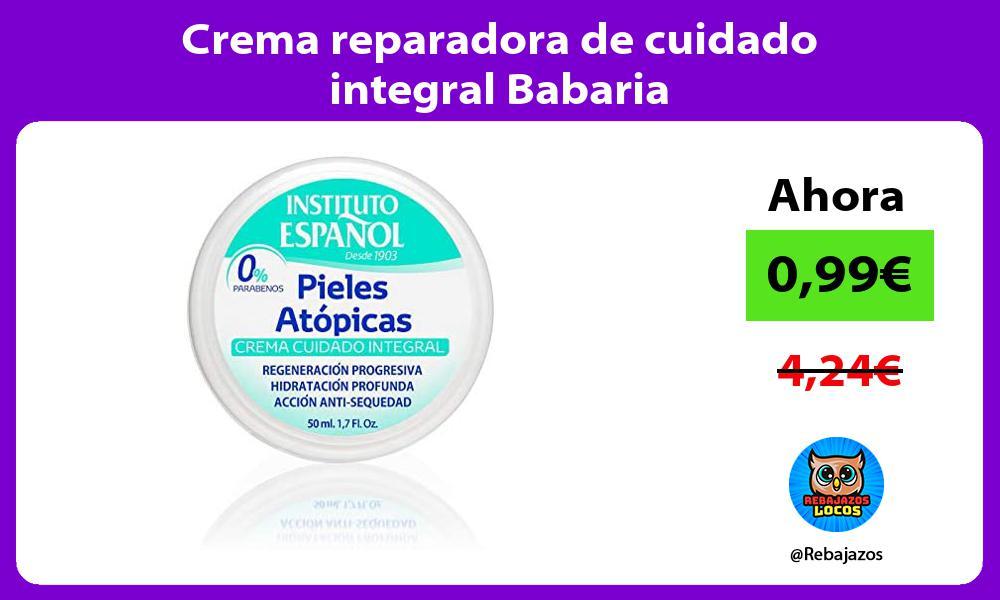 Crema reparadora de cuidado integral Babaria