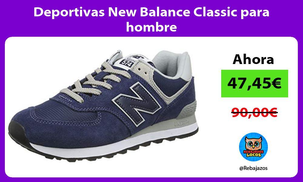 Deportivas New Balance Classic para hombre