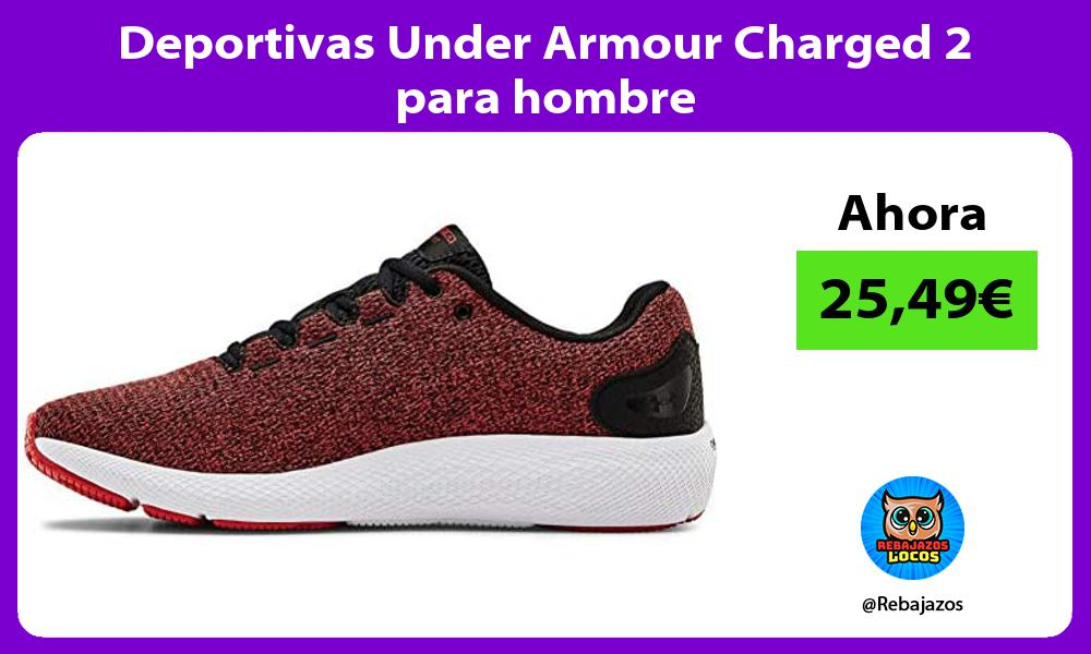 Deportivas Under Armour Charged 2 para hombre