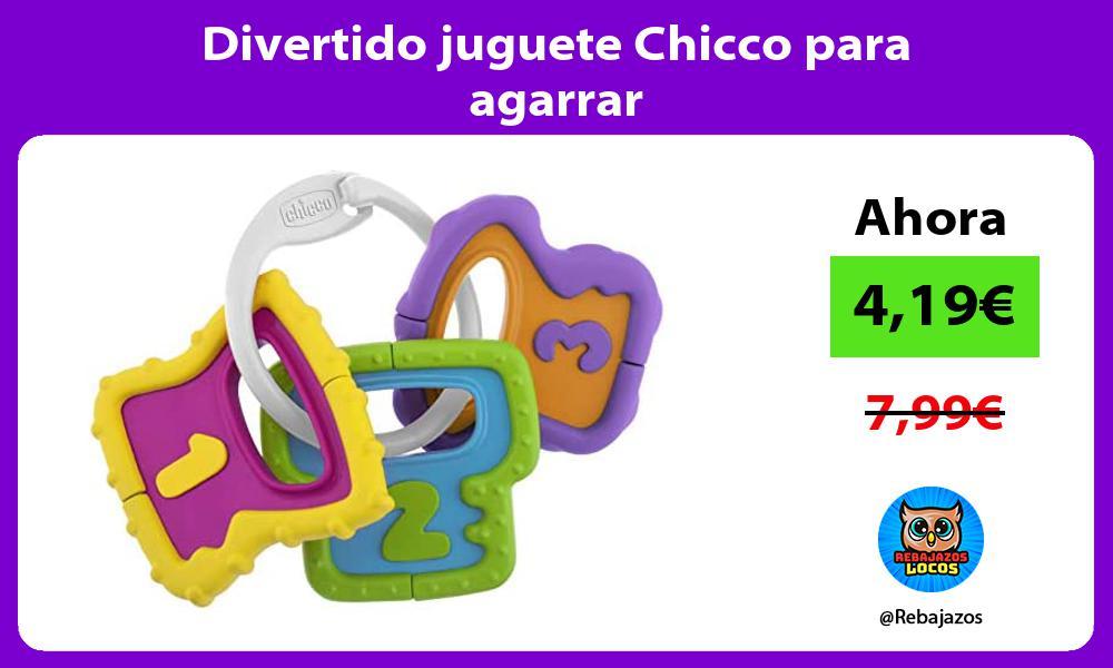 Divertido juguete Chicco para agarrar