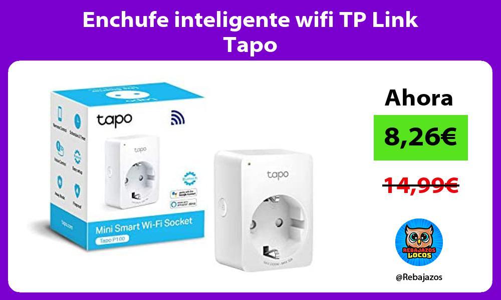 Enchufe inteligente wifi TP Link Tapo