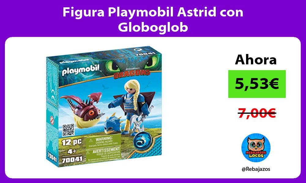 Figura Playmobil Astrid con Globoglob