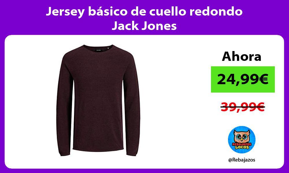 Jersey basico de cuello redondo Jack Jones