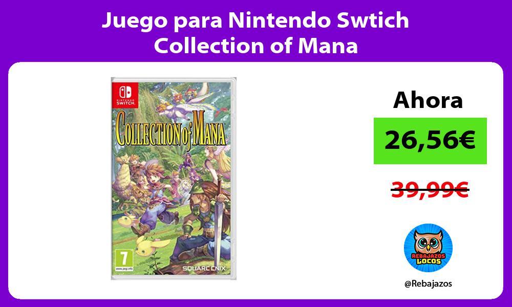 Juego para Nintendo Swtich Collection of Mana