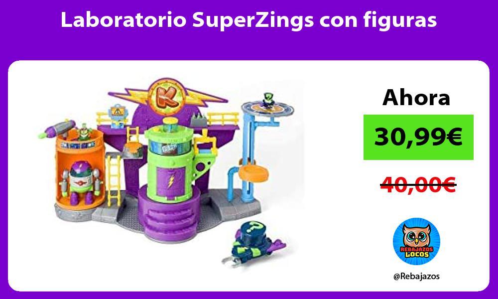 Laboratorio SuperZings con figuras