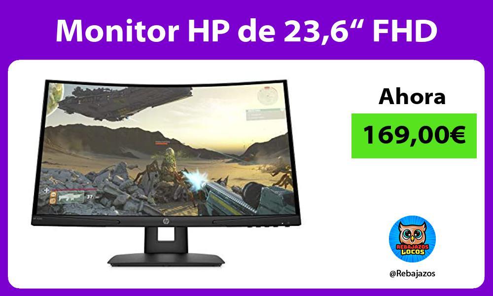 Monitor HP de 236 FHD