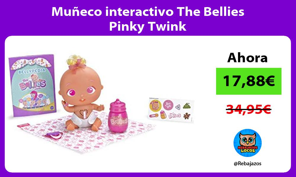 Muneco interactivo The Bellies Pinky Twink