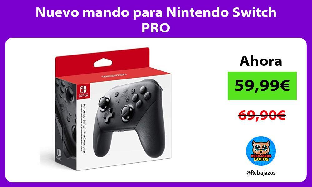Nuevo mando para Nintendo Switch PRO