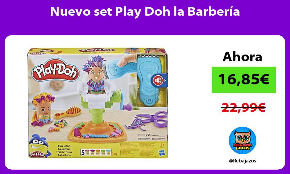 Nuevo set Play Doh la Barberia