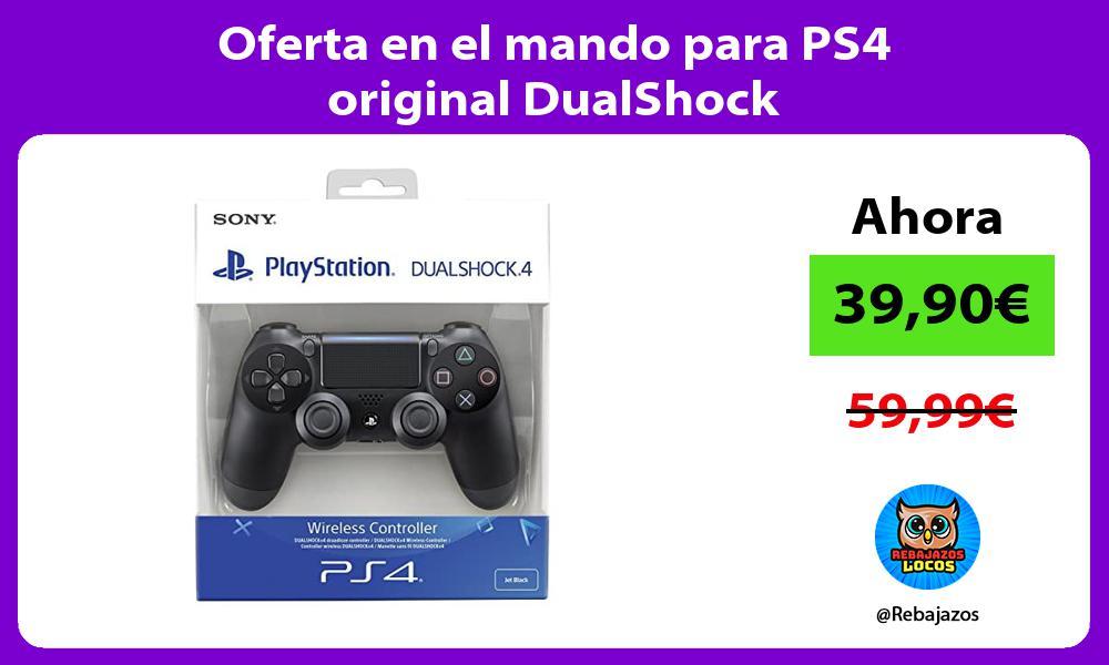 Oferta en el mando para PS4 original DualShock