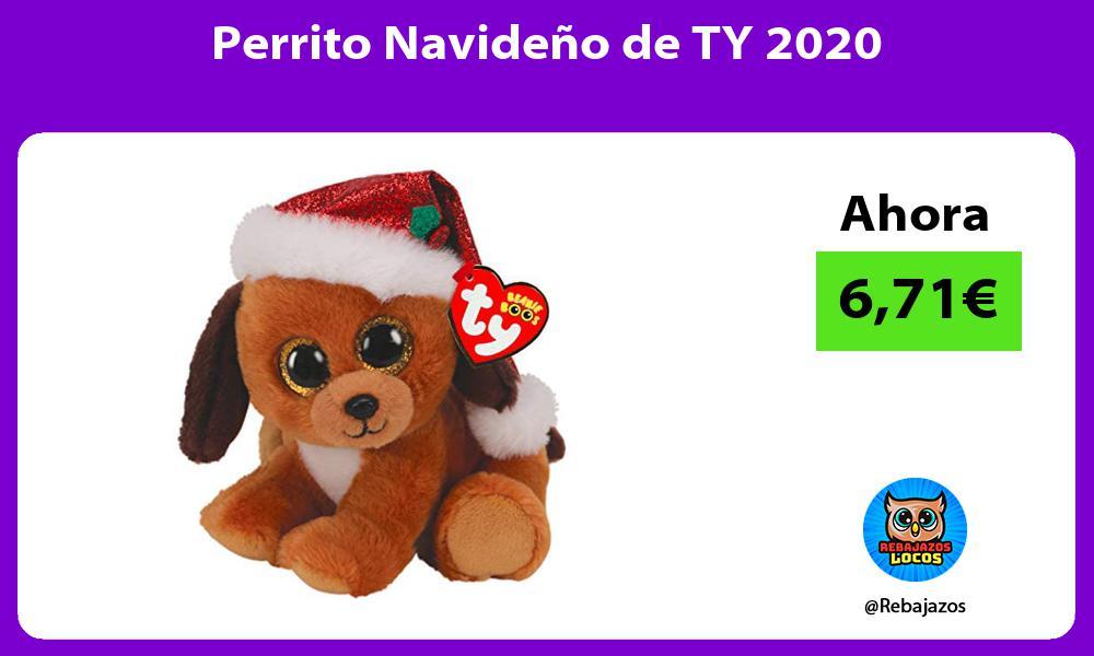 Perrito Navideno de TY 2020