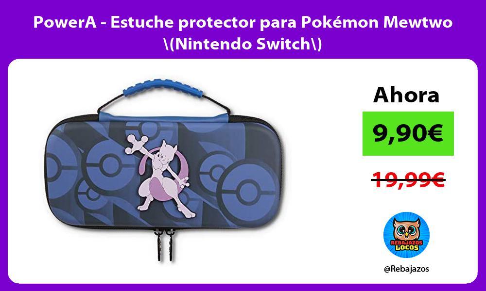PowerA Estuche protector para Pokemon Mewtwo Nintendo Switch