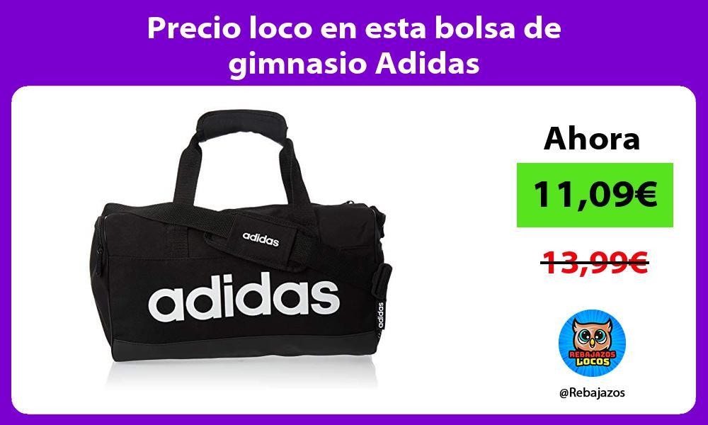 Precio loco en esta bolsa de gimnasio Adidas
