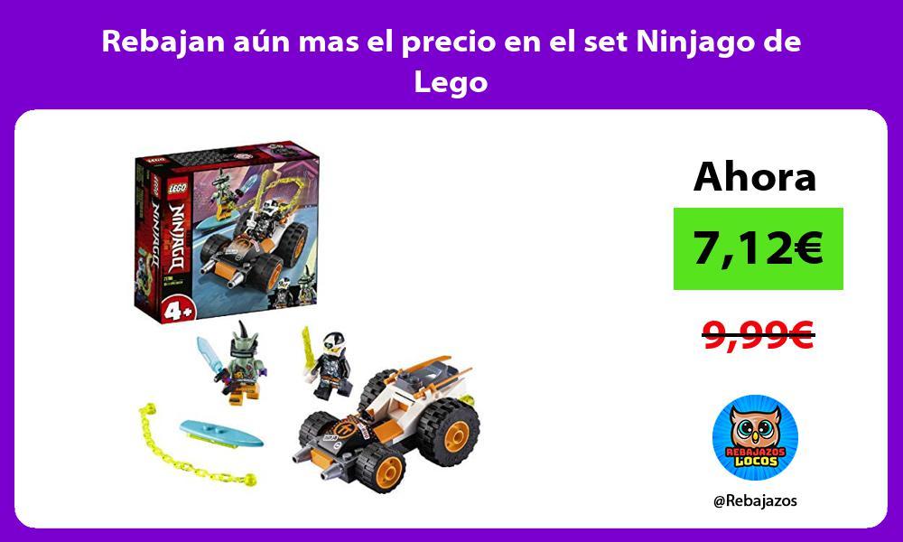 Rebajan aun mas el precio en el set Ninjago de Lego