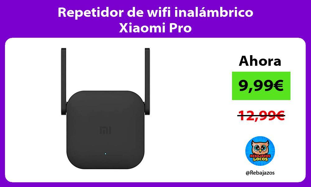 Repetidor de wifi inalambrico Xiaomi Pro