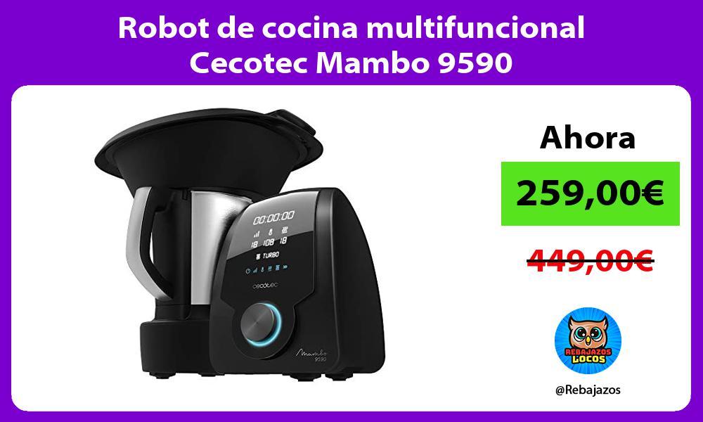 Robot de cocina multifuncional Cecotec Mambo 9590