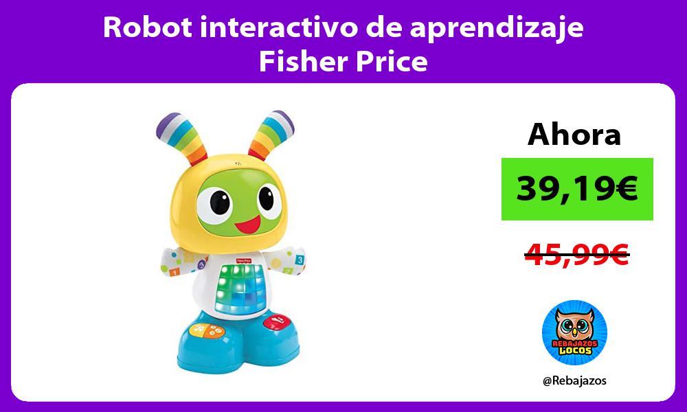 Robot interactivo de aprendizaje Fisher Price