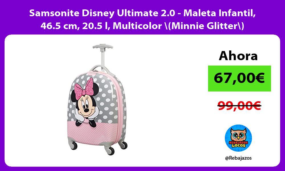 Samsonite Disney Ultimate 2 0 Maleta Infantil 46 5 cm 20 5 l Multicolor Minnie Glitter