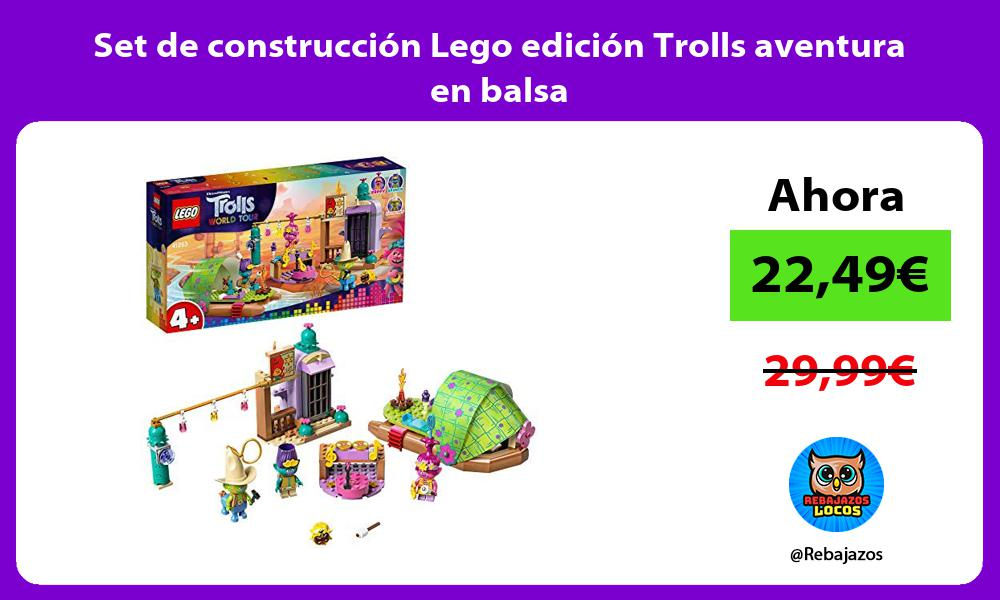 Set de construccion Lego edicion Trolls aventura en balsa