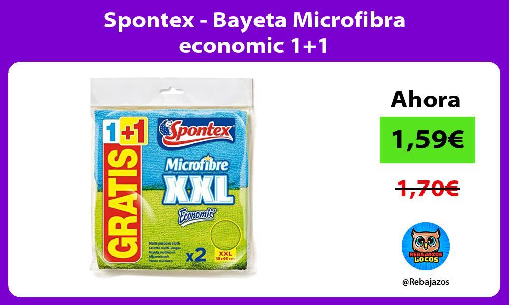 Spontex Bayeta Microfibra economic 11