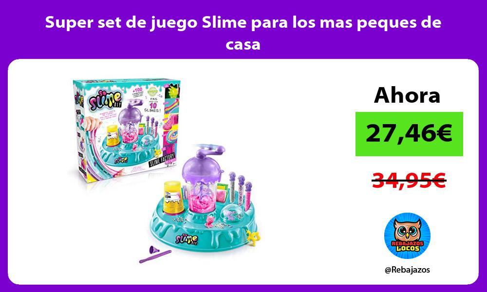 Super set de juego Slime para los mas peques de casa