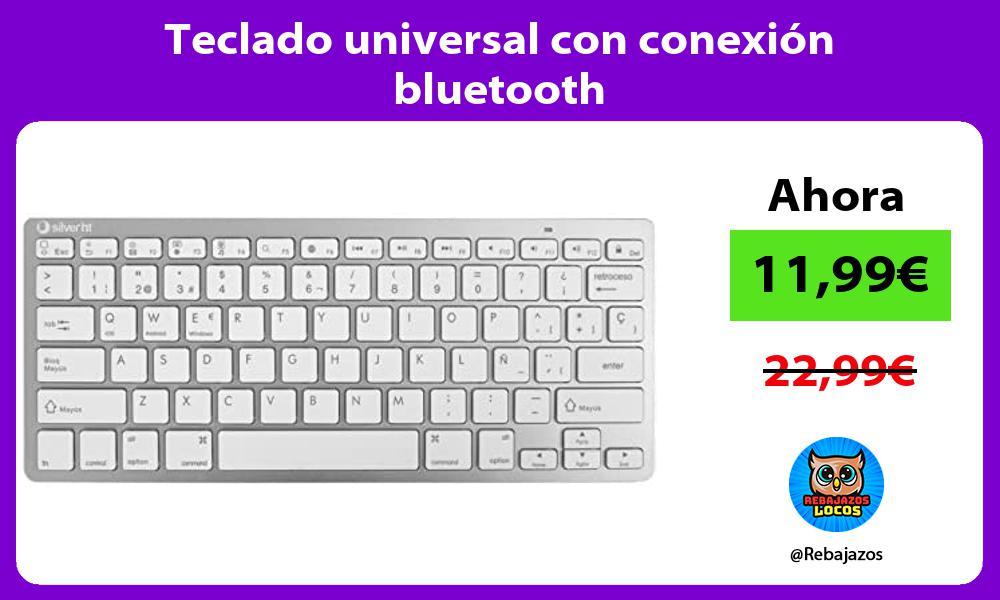 Teclado universal con conexion bluetooth