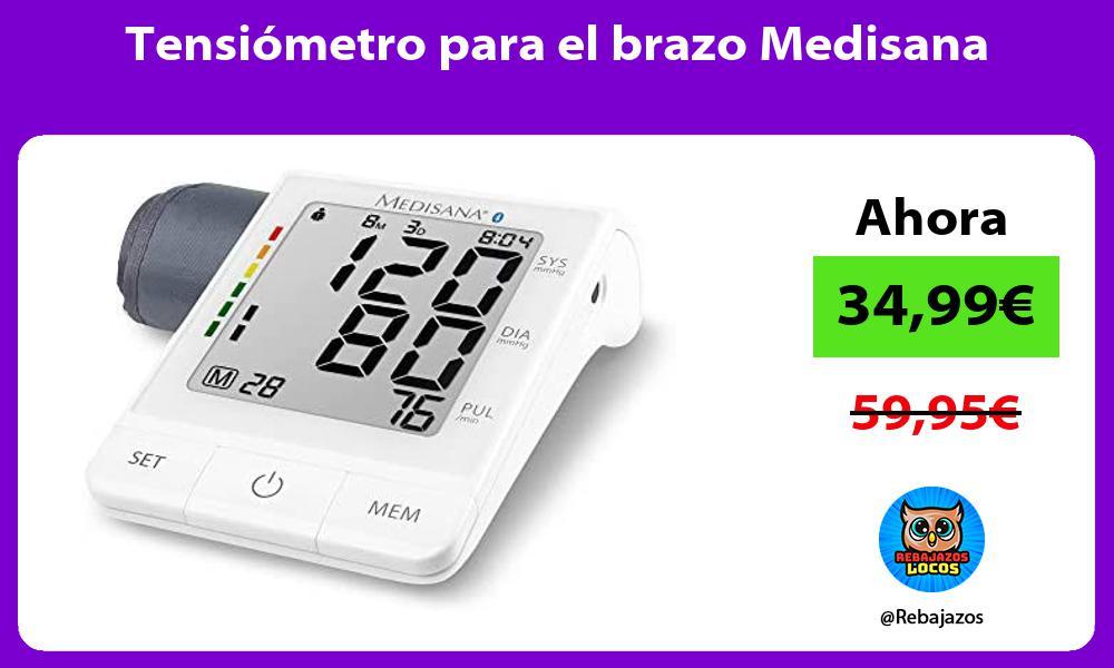 Tensiometro para el brazo Medisana