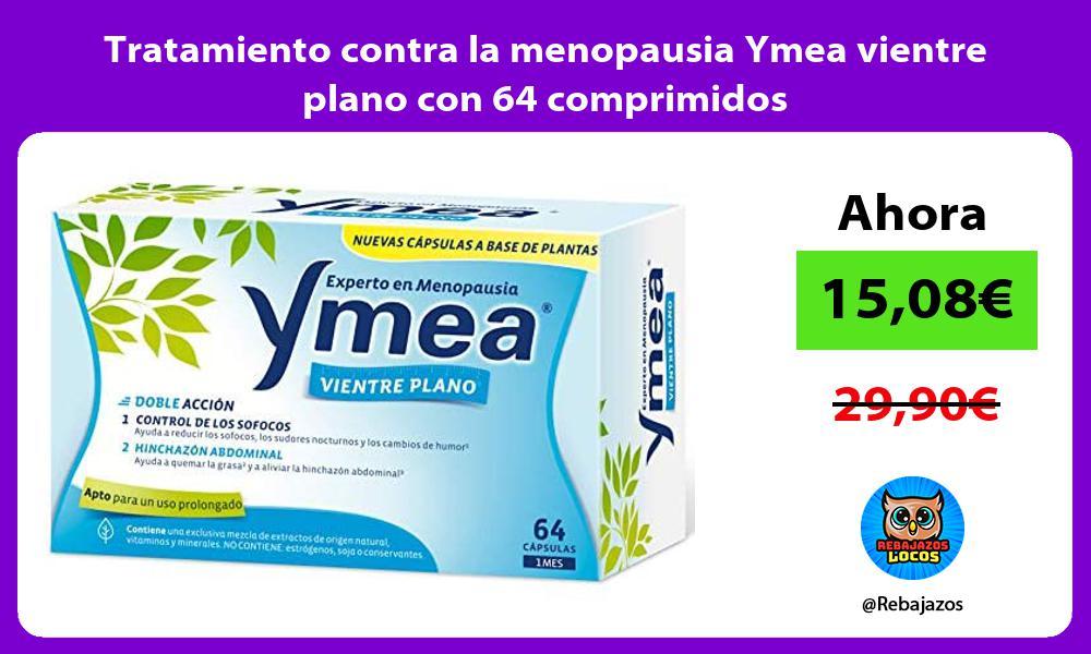 Tratamiento contra la menopausia Ymea vientre plano con 64 comprimidos