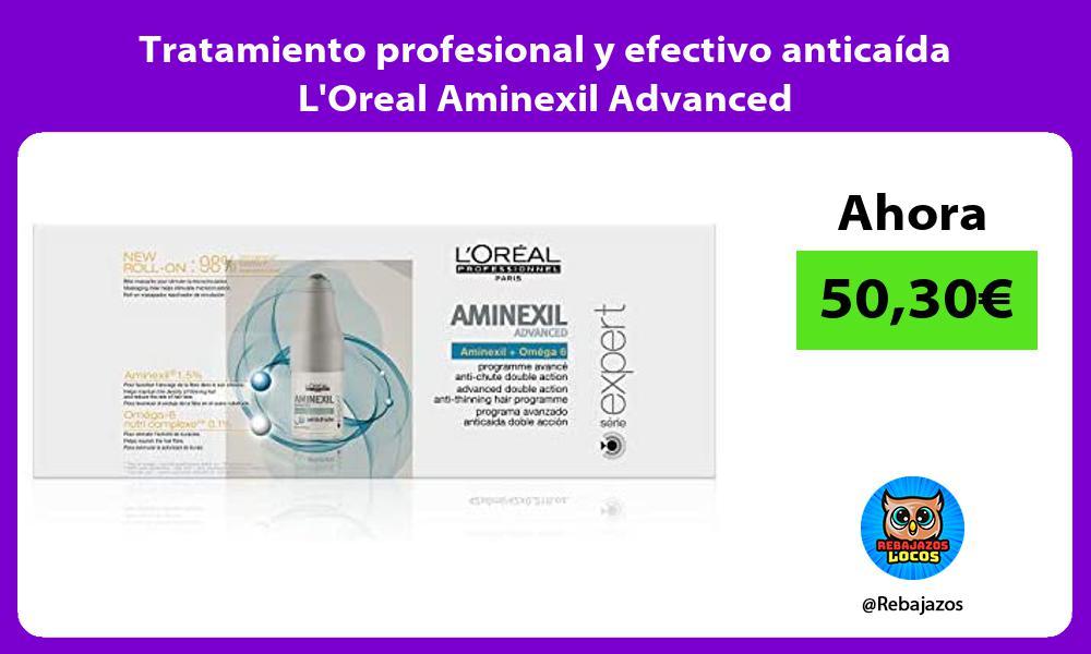 Tratamiento profesional y efectivo anticaida LOreal Aminexil Advanced