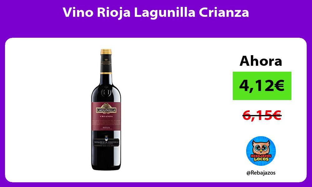 Vino Rioja Lagunilla Crianza
