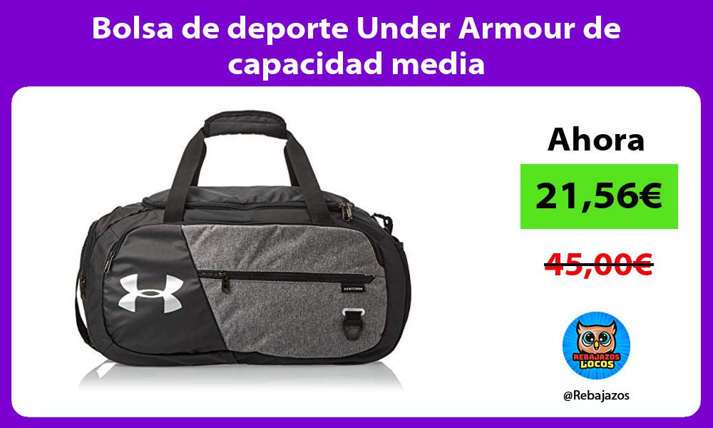 Bolsa de deporte Under Armour de capacidad media