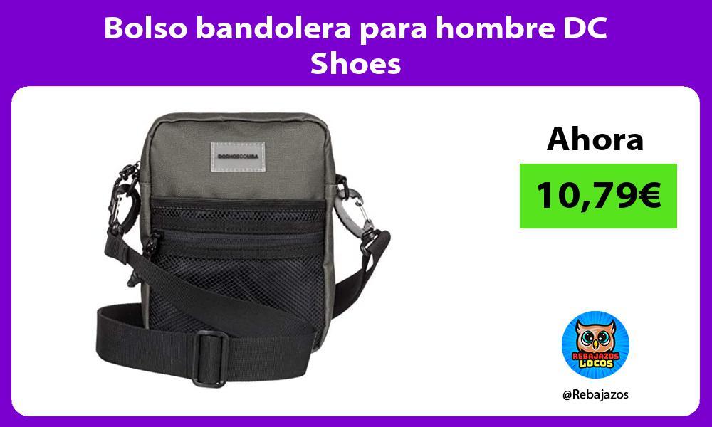 Bolso bandolera para hombre DC Shoes